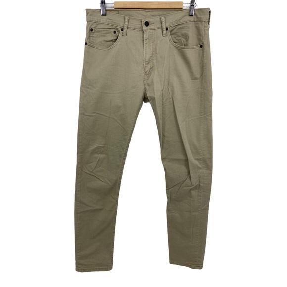 Levi's 512 Pants Men's Slim Fit Tapered Pant 34x34